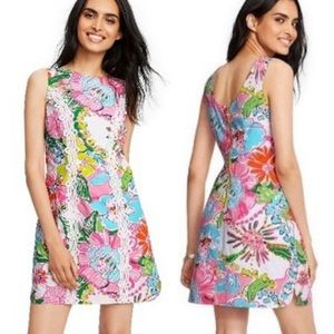Lilly Pulitzer   'Nosey Posey' Print Shift Dress